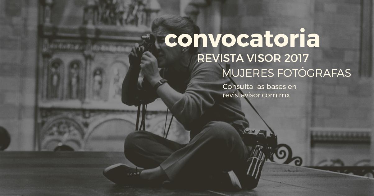 visor convocatoria mujeres latinas fotografía